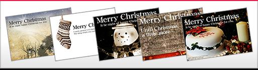 クリスマスカードの送付が増えてます。誰でももらうと嬉しいグリーティングカード、心をつかむお洒落な演出をするための素敵なカードを。